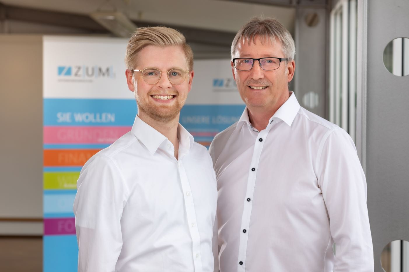 Tim Wolters und Reinhard Zwake